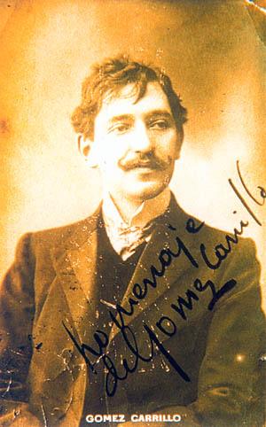 p gomez carrillo - Enrique Gómez Carrillo, escritor