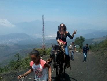 Paseo a caballos por la ruta de La Corona donde tendrás un paisaje muy bonito