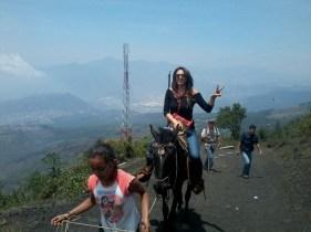 Paseo a caballos por la ruta de La Corona donde tendrás un paisaje muy bonito - Guía Turística - Volcán de Pacaya