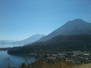 Vista panorámica de San Juan La Laguna