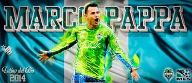 Marco Pappa, Latino del Año 2014 del MLS