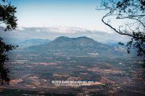 Volcán de Ipala, Chiquimula, tomada desde la Cumbre del volcán Suchitán - foto por Galas de Guatemala