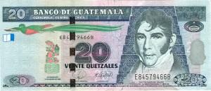 billetede20quetzalesadelante 300x130 - José Mariano Gálvez,  impulsor de la enseñanza laica y prócer de la independencia