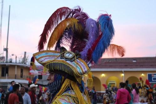Danzantes Palo Volador Santa María Joyabaj Quiché Fotografía por Ana Lú García