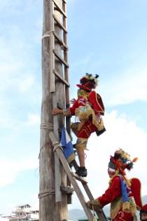 Miguelitos Pequeños danzantes del Palo Volador Fotografía Ana Lú García
