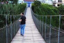 Puente de Hamaca Puente Viejo Jalapa - Guía Turística - Laguna del Hoyo, Jalapa