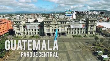 Video Aéreo – Parque Central, Ciudad de Guatemala