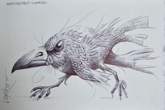 Aveztrupez-cuervo. Autor: Jorge Corleto