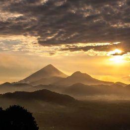 Atardecer en Quetzaltenango - foto por Dany Lopez