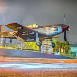 Fuerza Aerea Guatemalteca - avion en la Zona 13 - foto por Dany Lopez
