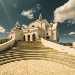 Iglesia en Ciudad Cayalá, Guatemala - foto por Marcelo Jimenez