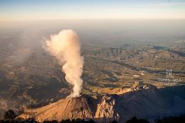 volcan santiaguito foto por dany lopez - Galeria de Fotos de Guatemala por Dany Lopez