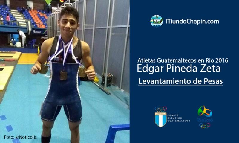 edgar pineda zeta rio2016 mundochapin - Los 21 atletas guatemaltecos en Río 2016