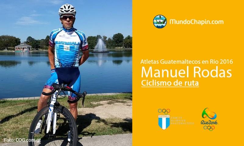 manuel rodas rio2016 2 mundochapin - Los 21 atletas guatemaltecos en Río 2016