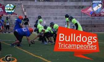 Bulldogs tricampeones