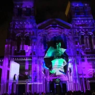 Mapping en la catedral metropolitana de Guatemala - foto: youtube