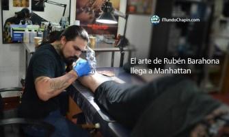 El arte de Rubén Barahona llega a Manhattan