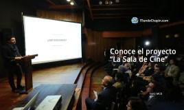El nuevo proyecto, La Sala de Cine, es liderado por Jayro Bustamante