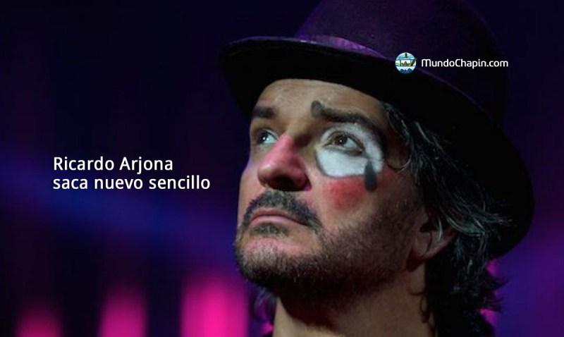 Ricardo Arjona saca nuevo sencillo