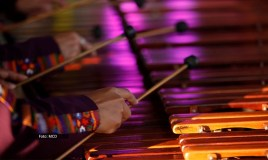La marimba de los guatemaltecos