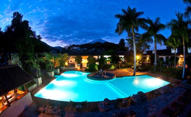 casa santo domingo guatemala mundochapin - 10 Hoteles en Guatemala que Conocer en 2017