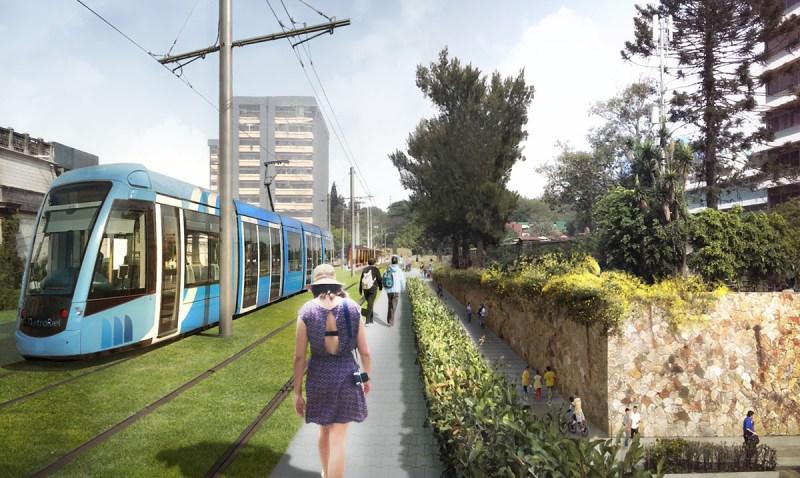Implementación del Metro Riel en Guatemala
