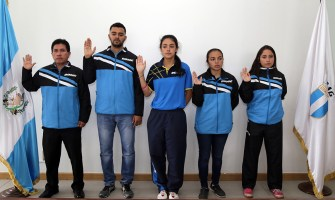 Guatemaltecos en el circuito mundial de tenis de mesa