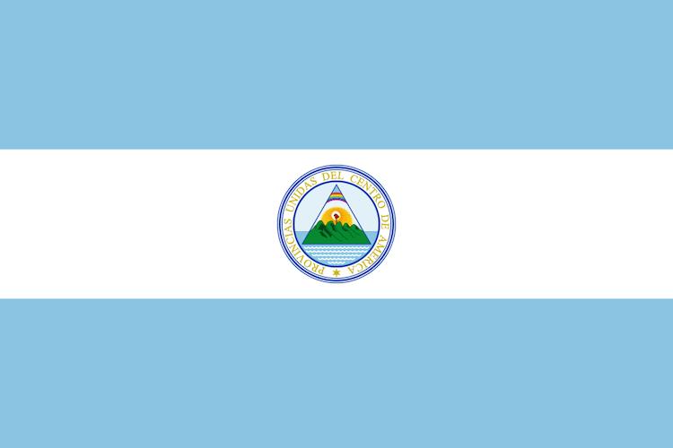 1200px flag of the united provinces of central america svg - La bandera que identifica a los Guatemaltecos