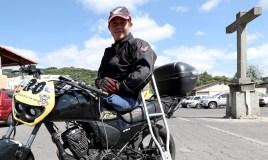 Ni dos accidentes detuvieron al campeón de moto velocidad