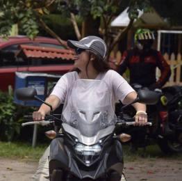 "foto 5 rocio aguilar - Perla Aguilar: ""Mi meta es representar a Guatemala en motociclismo"""