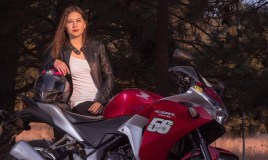 "Perla Aguilar: ""Mi meta es representar a Guatemala en motociclismo"""