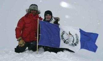 Primera latinoamericana en llegar al Polo Norte