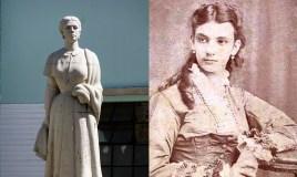 Las dos mujeres del periodo de la Colonia en Guatemala