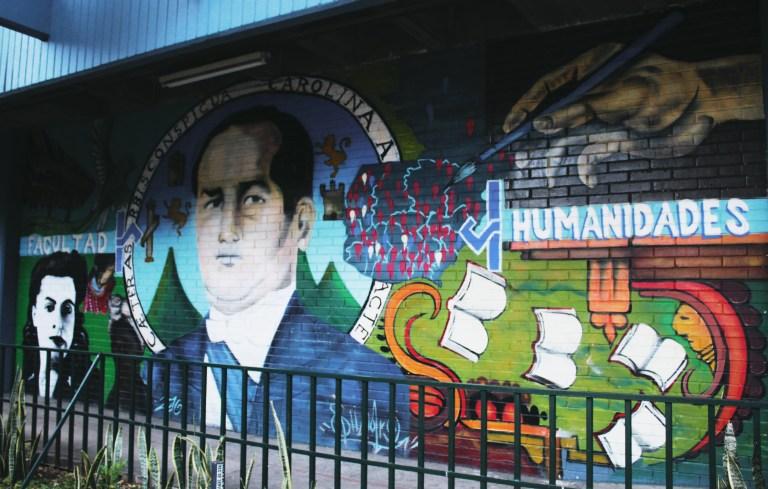 14 los humanistas 768x489 - Murales que cuentan la historia del país