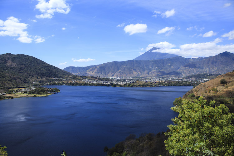 5 vista iniciando el recorrido - Un recorrido por el Paseo del Lago Amatitlán