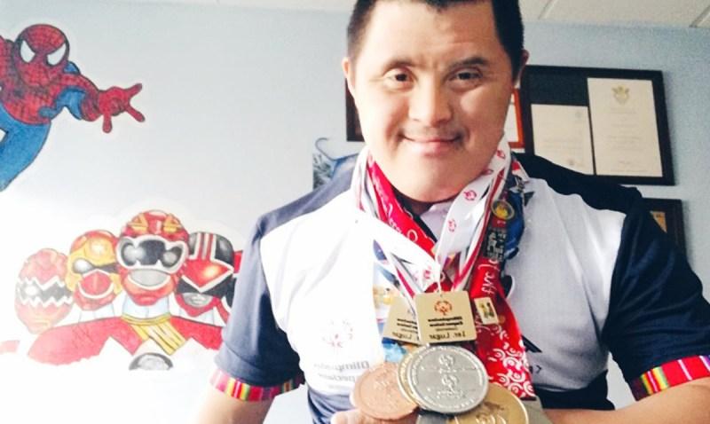 Charly es Campeón Mundial de Olimpiadas Especiales