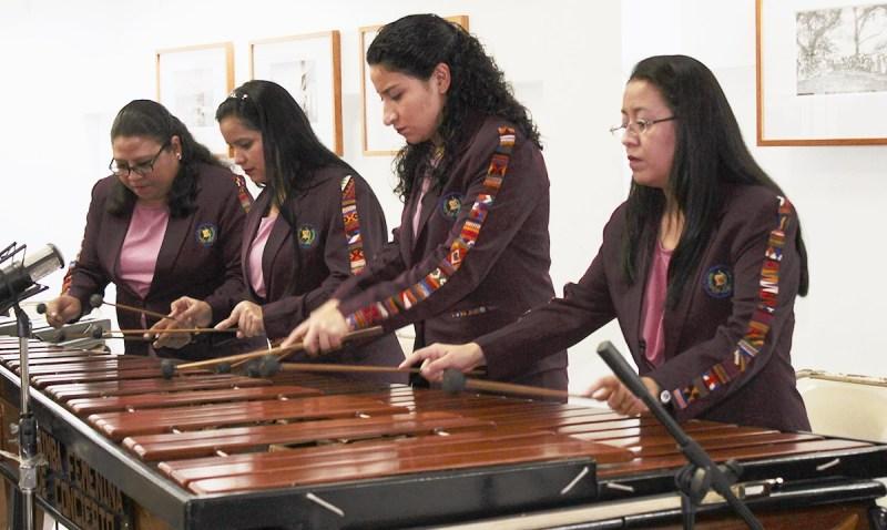 La Marimba Femenina de Concierto un orgullo chapín