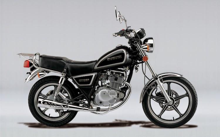 suzuki gn 125 n - Las motocicletas más vendidas en Guatemala