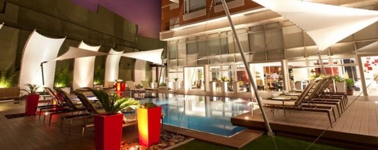adriatika boutique piscina exterior 9 - 10 Hoteles en Guatemala que debes conocer en 2018