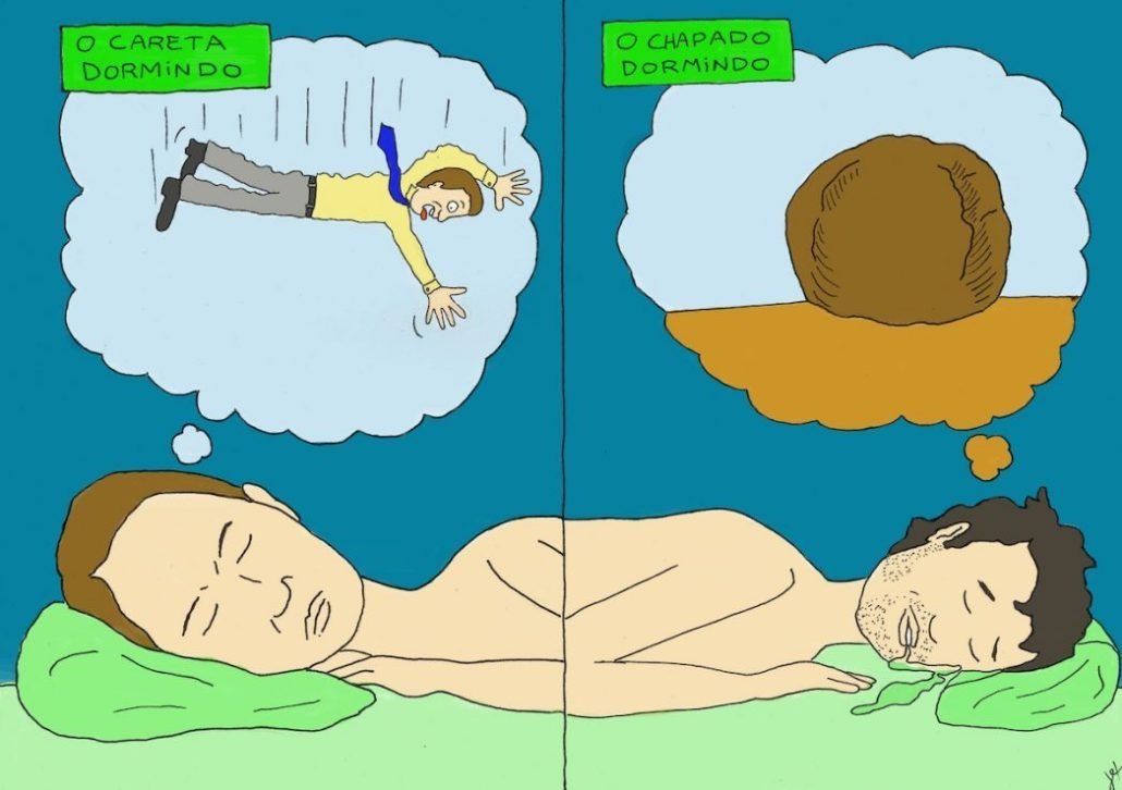 Ilustra cannábica O sono e sonho  2