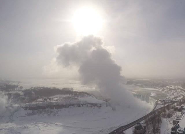 Niagara Falls congelada Inverno