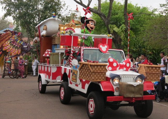 Parada do animal kingdom