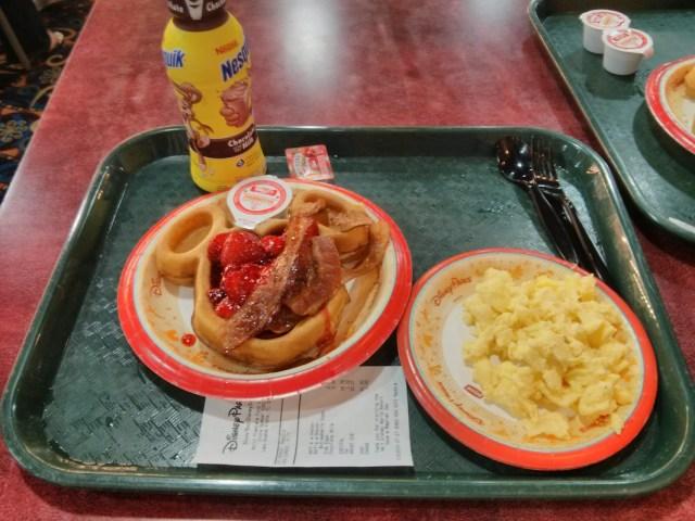 Café da manhã Resort Disney