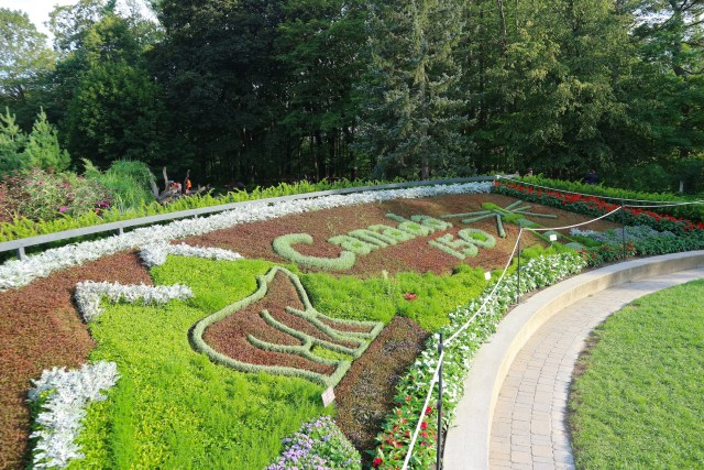 Entrada do Edwards Garden