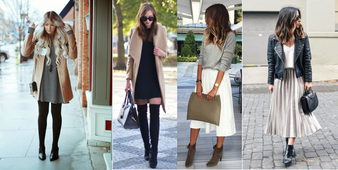 Look Dress Autumn Skirt