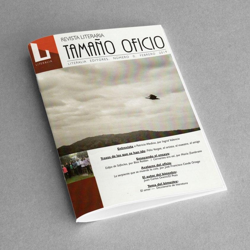 Revista Literaria Tamaño Oficio, Num. 0