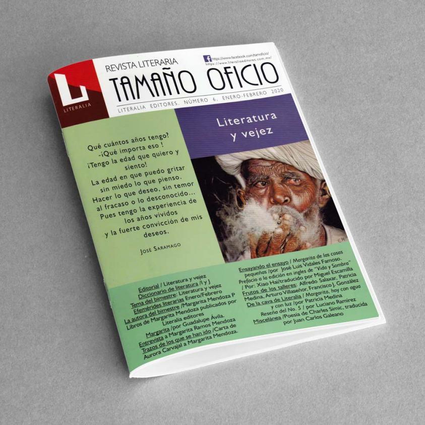 Revista Literaria Tamaño Oficio, Num. 6