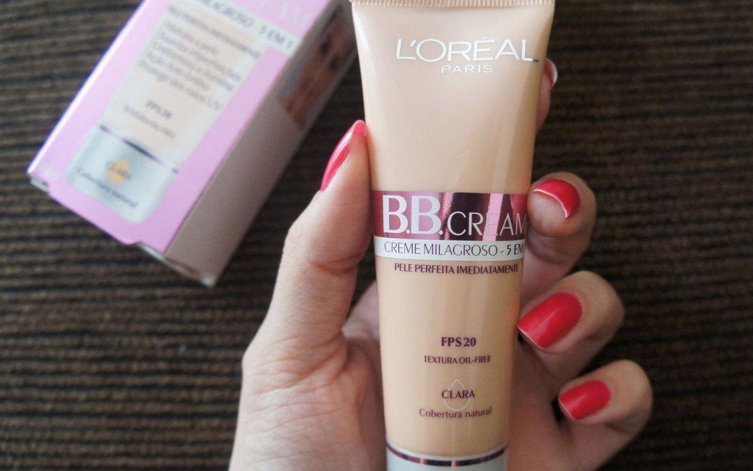 Testei e Indico – B.B. Cream L'Oréal Paris