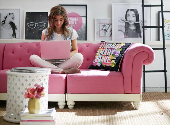 Decoração – Como Usar o Pink com Moderação