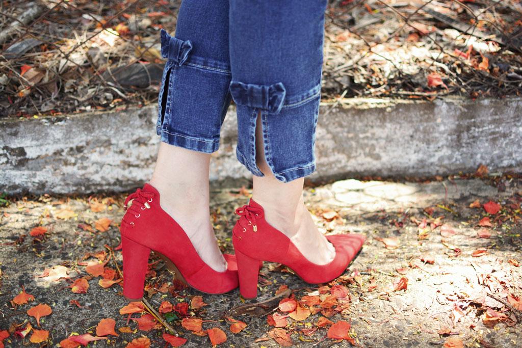 Sapato Vermelho Arezzo